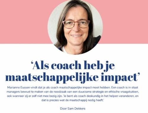 Als coach heb je maatschappelijke impact
